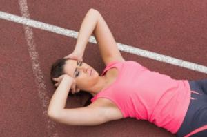 headache and nausea after running